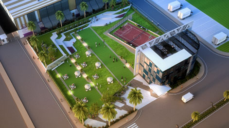 CLUB HOUSE TOP VIEW